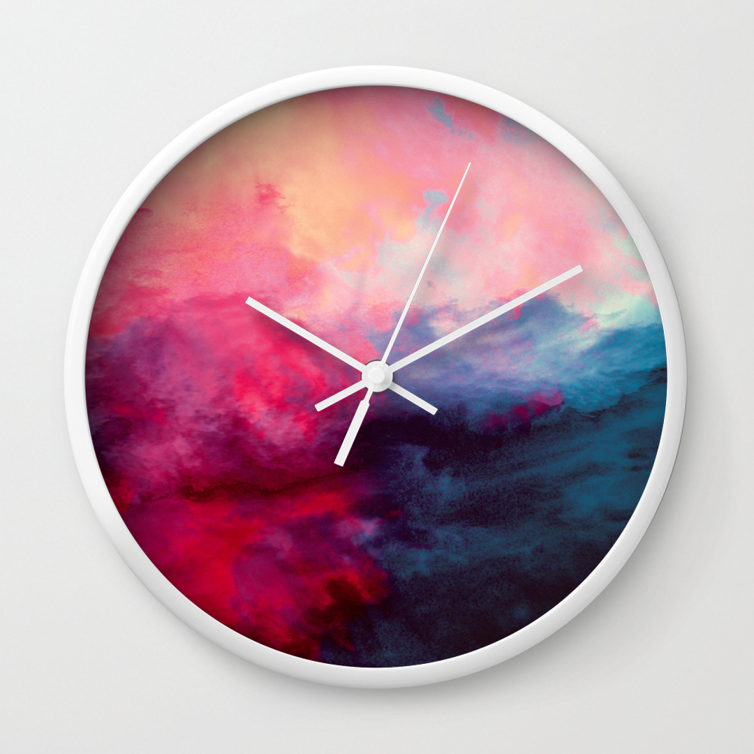 Wall Clocks Society6