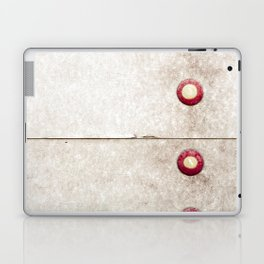 Four on Gray Laptop & iPad Skin