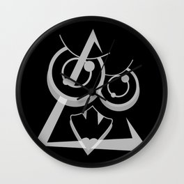 EDiT BLACK SiDE ver. (Original Characters Art by AKIRA) Wall Clock