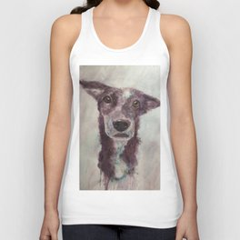 Parson, the cattle dog Unisex Tank Top