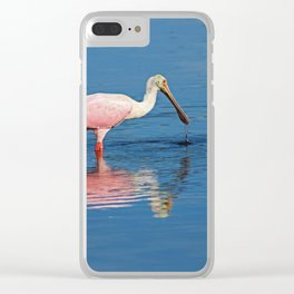 Deeper Than the Surface Clear iPhone Case