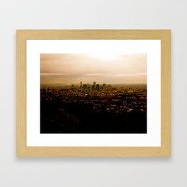 Little City Framed Art Print