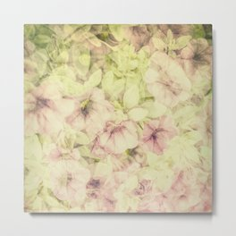 Pink Summer Joy Metal Print