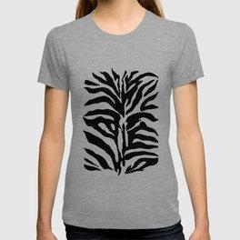 Black and white Zebra Stripes Design T-shirt