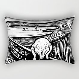 "Edvard Munch ""The Scream"", 1895 Rectangular Pillow"