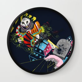 Escape from nothingness Wall Clock