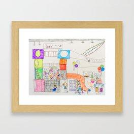 Kelly Bruneau #17 Framed Art Print