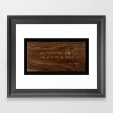 Khojki prayer Framed Art Print