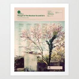 The Visual Mixtape 2010 | The Dust Of Retreat | 19 / 25 Art Print