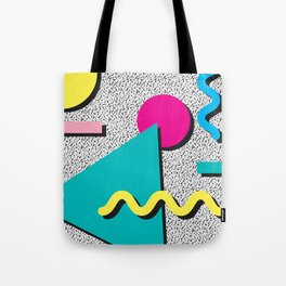 Abstract 1980's Tote Bag