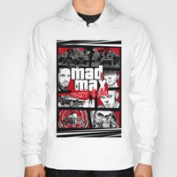 gta Hoodies featuring Mashup GTA Mad Max Fury Road by Akyanyme