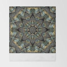 Labradorite Starlight Throw Blanket