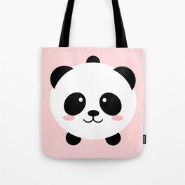 Lovely kawai panda bear Tote Bag