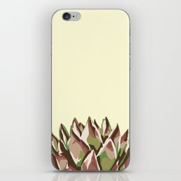 Sunshine Rosette - Yellow Wax Agave Succulent iPhone Skin