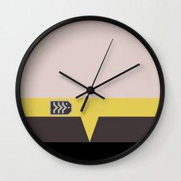 Miles O'Brien - Minimalist Star Trek DS9 Deep Space Nine - Chief  - startrek - Trektangles - Square Wall Clock