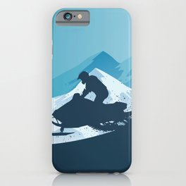 Snowmobile • Winter Sport iPhone Case