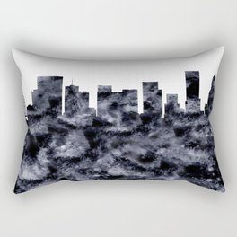 Portland Skyline Oregon Rectangular Pillow