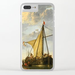 """Aelbert Cuyp """"The Maas at Dordrecht"""" Clear iPhone Case"""