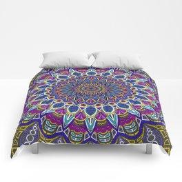 Sapphire Mandala Comforters