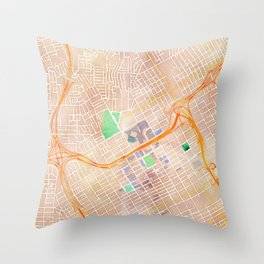 Birmingham, Alabama Throw Pillow