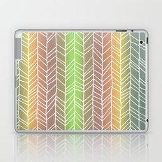 Colorful Rainbow Feather Pattern Laptop & iPad Skin