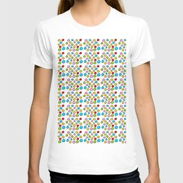 Circle and abstraction 3-abstraction,abstract,geometric,geometrical,pattern,circle,sphere T-shirt