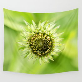 Coneflower Blooming Wall Tapestry