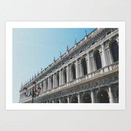 San Marco's Perspective Art Print