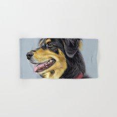 Dog Portrait 01 Hand & Bath Towel