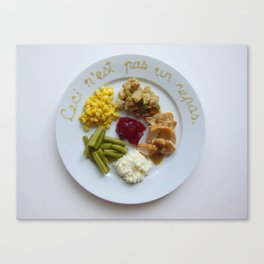 Thanksgiving Special: Magritte Canvas Print