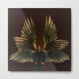 One Part Angel, One Part Danger Metal Print
