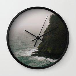 Oregon Coast: IV // Oregon Wall Clock