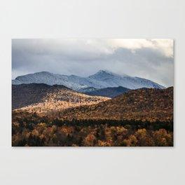 Mount Mansfield, Vermont Canvas Print