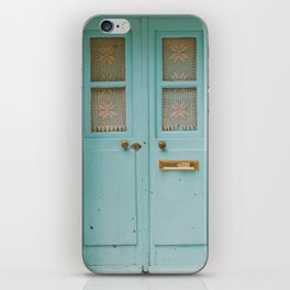 Mint Door iPhone Skin
