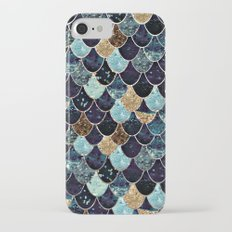 REALLY MERMAID - MYSTIC BLUE Slim Case iPhone 7