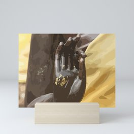 Buddha Hand Illustration Mini Art Print