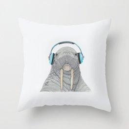 The better to Hear You / Para Oírte Mejor Throw Pillow