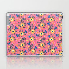 Folk Floral (pink) Laptop & iPad Skin