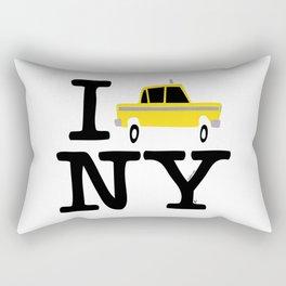 New York Yellow Cab logo Rectangular Pillow