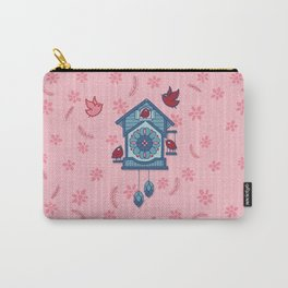 Cuckoo Time blue Carry-All Pouch