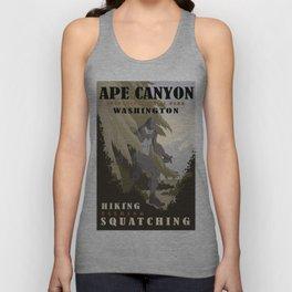 CPS: Ape Canyon, WA Unisex Tank Top