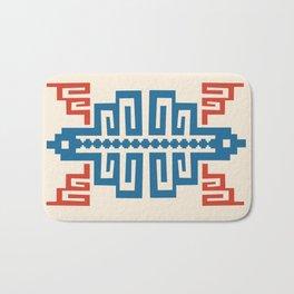 Blue Inca Bath Mat