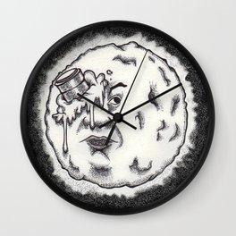 Mr. Moon Wall Clock