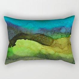 Looking at Layers Rectangular Pillow