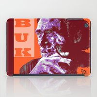bukowski iPad Cases featuring Charles Bukowski - PopART by ARTito