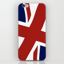 Union Jack Close Up iPhone Skin