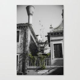 Al Vaporetto Venice italy Canvas Print