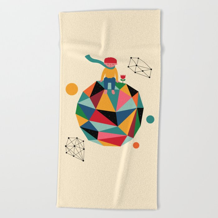 Lonely planet Beach Towel