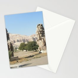The Clossi of memnon at Luxor, Egypt, 2 Stationery Cards