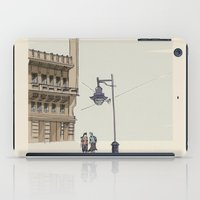 street iPad Cases featuring Street by Federica Fragapane